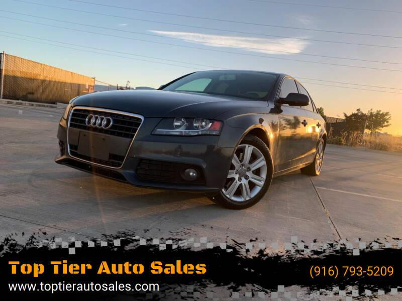 2011 Audi A4 for sale at Top Tier Auto Sales in Sacramento CA