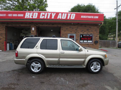 2002 Infiniti QX4 for sale at Red City  Auto in Omaha NE