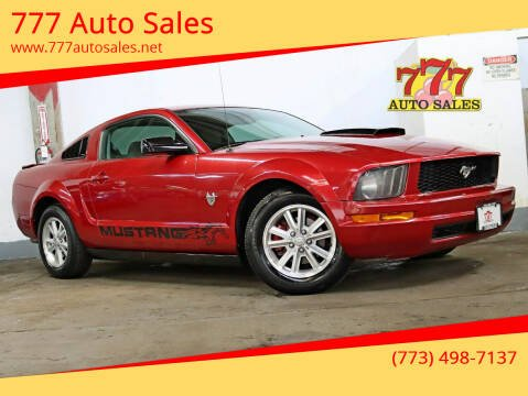 2009 Ford Mustang for sale at 777 Auto Sales in Bedford Park IL