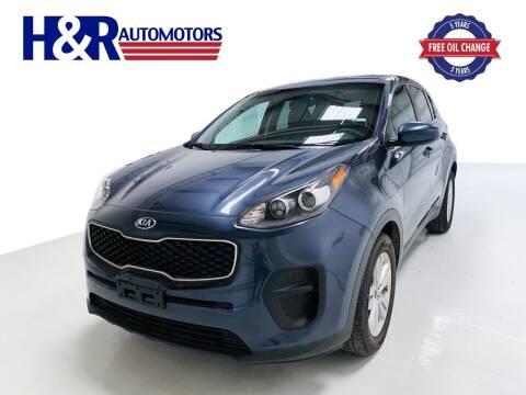 2018 Kia Sportage for sale at H&R Auto Motors in San Antonio TX