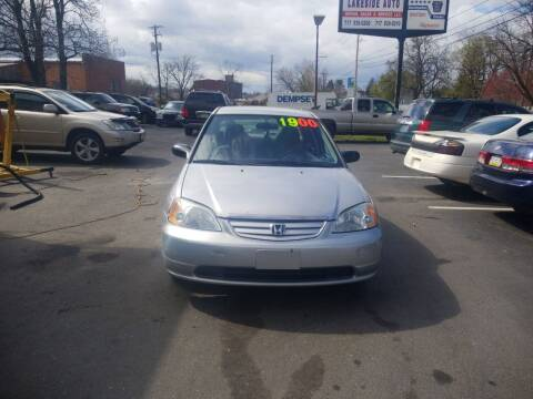 2002 Honda Civic for sale at Roy's Auto Sales in Harrisburg PA