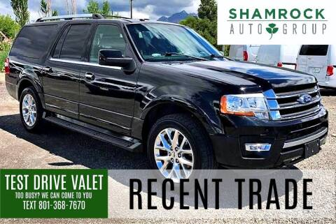 2017 Ford Expedition EL for sale at Shamrock Group LLC #1 in Pleasant Grove UT