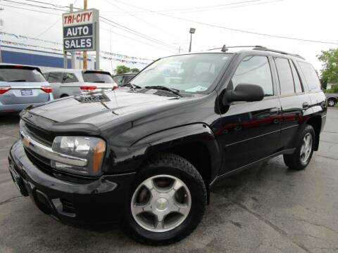 2008 Chevrolet TrailBlazer for sale at TRI CITY AUTO SALES LLC in Menasha WI