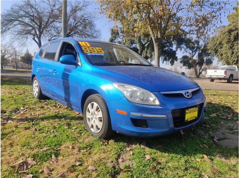 2010 Hyundai Elantra Touring for sale at D & I Auto Sales in Modesto CA