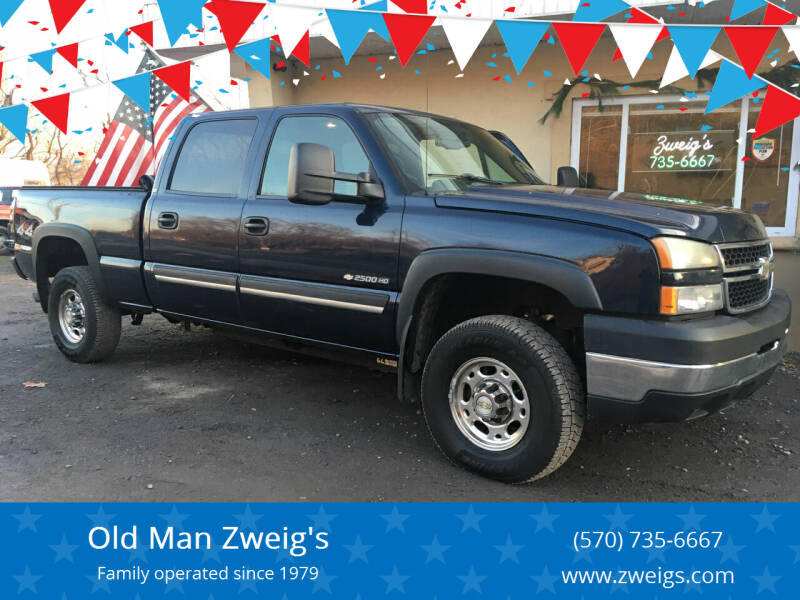 2006 Chevrolet Silverado 2500HD for sale at Old Man Zweig's in Plymouth Township PA
