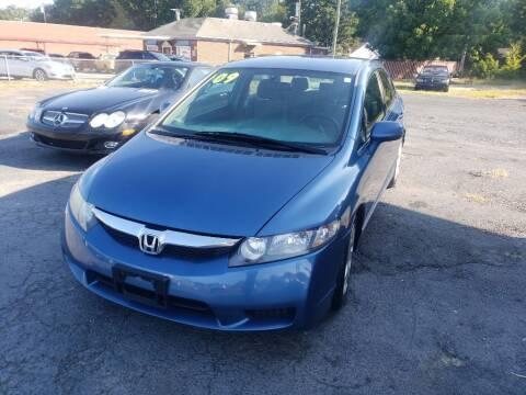 2009 Honda Civic for sale at Lara's Auto Sales LLC in Concord NC