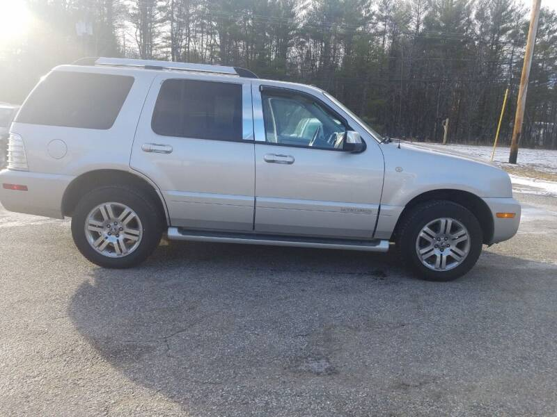 2008 Mercury Mountaineer for sale at Lewis Auto Sales in Lisbon ME