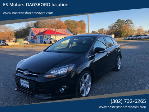 2013 Ford Focus for sale at ES Motors-DAGSBORO location in Dagsboro DE