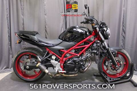 2018 Suzuki SV650 for sale at Powersports of Palm Beach in Hollywood FL