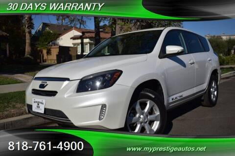 2012 Toyota RAV4 EV for sale at Prestige Auto Sports Inc in North Hollywood CA