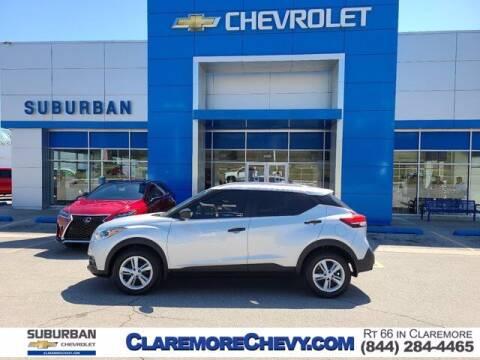 2019 Nissan Kicks for sale at Suburban Chevrolet in Claremore OK