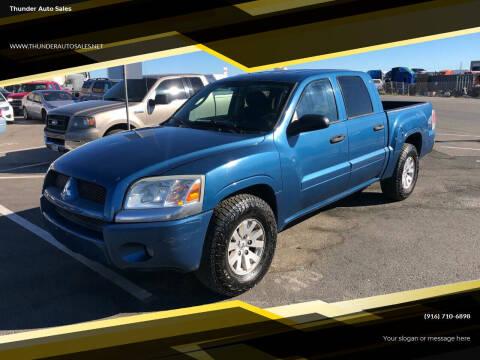 2006 Mitsubishi Raider for sale at Thunder Auto Sales in Sacramento CA