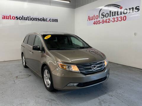 2012 Honda Odyssey for sale at Auto Solutions in Warr Acres OK