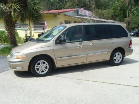 2001 Ford Windstar for sale at VANS CARS AND TRUCKS in Brooksville FL