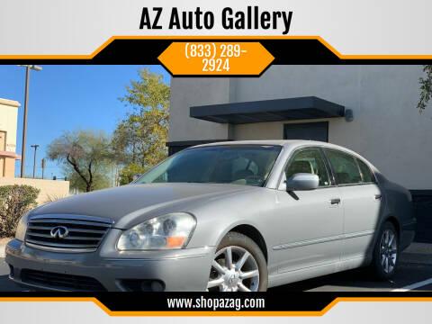 2005 Infiniti Q45 for sale at AZ Auto Gallery in Mesa AZ