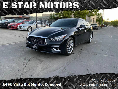 2018 Infiniti Q50 for sale at E STAR MOTORS in Concord CA