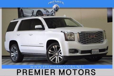2018 GMC Yukon for sale at Premier Motors in Hayward CA