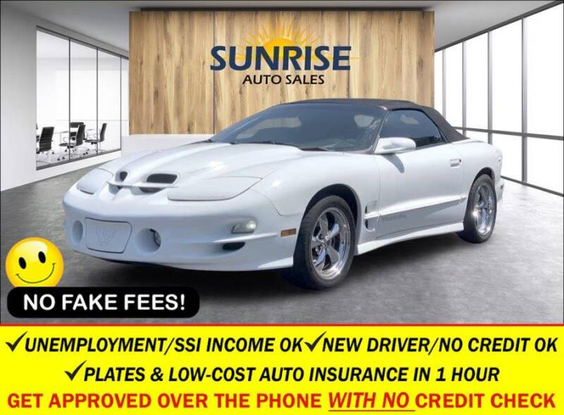 1998 Pontiac Firebird for sale at AUTOFYND in Elmont NY