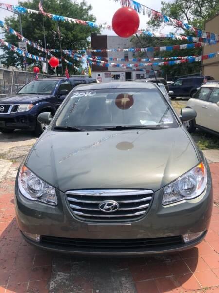 2010 Hyundai Elantra for sale at GARET MOTORS in Maspeth NY
