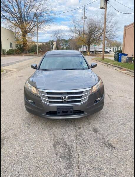 2012 Honda Crosstour for sale at Horizon Auto Sales in Raleigh NC