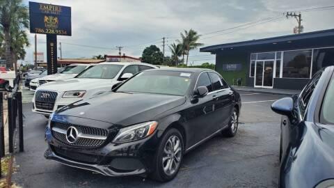 2016 Mercedes-Benz C-Class for sale at Empire Car Sales in Miami FL