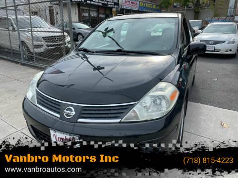 2008 Nissan Versa for sale at Vanbro Motors Inc in Staten Island NY