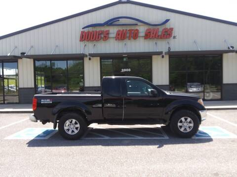 2005 Nissan Frontier for sale at DOUG'S AUTO SALES INC in Pleasant View TN