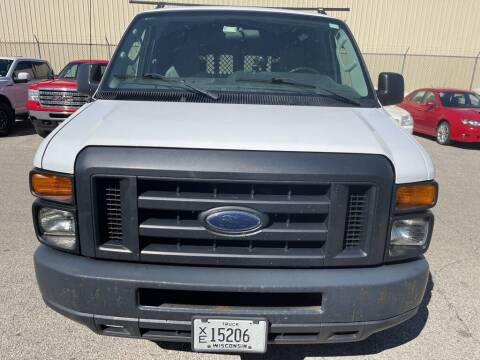 2013 Ford E-Series Cargo for sale at LENZ TRUCK CENTER in Fond Du Lac WI