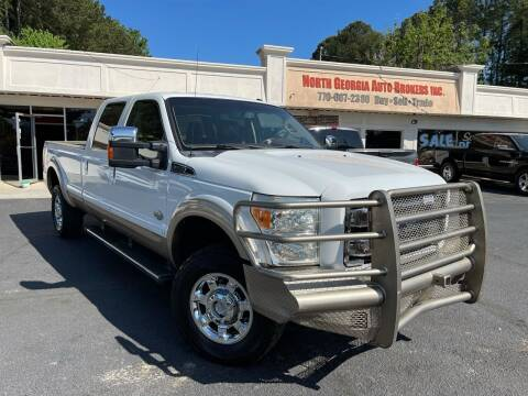 2012 Ford F-250 Super Duty for sale at North Georgia Auto Brokers in Snellville GA