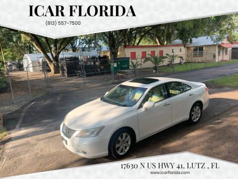 2008 Lexus ES 350 for sale at ICar Florida in Lutz FL