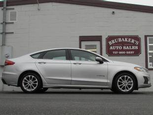2019 Ford Fusion Hybrid for sale at Brubakers Auto Sales in Myerstown PA