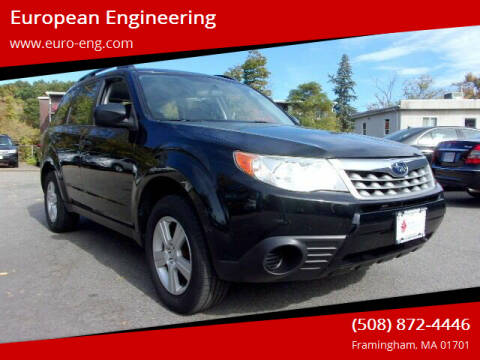2011 Subaru Forester for sale at European Engineering in Framingham MA