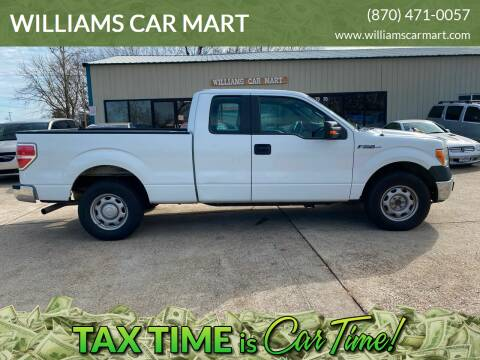 2011 Ford F-150 for sale at WILLIAMS CAR MART in Gassville AR