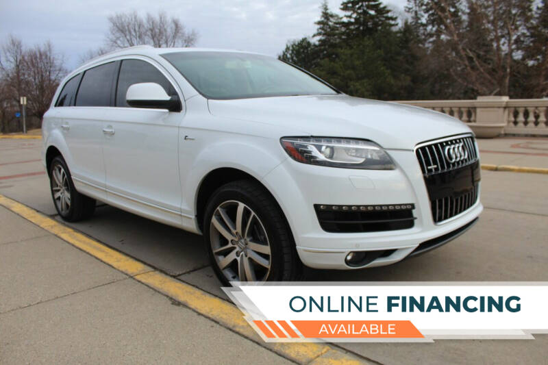 2014 Audi Q7 for sale at K & L Auto Sales in Saint Paul MN