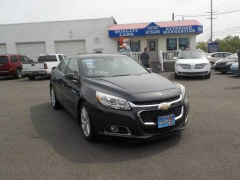 2014 Chevrolet Malibu for sale at United Auto Land in Woodbury NJ