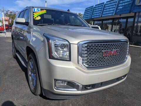 2015 GMC Yukon for sale at GREAT DEALS ON WHEELS in Michigan City IN