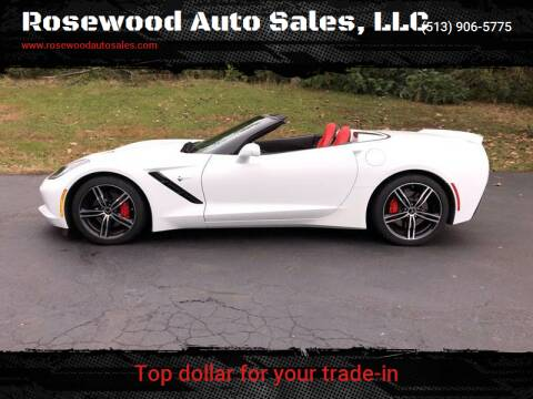 2016 Chevrolet Corvette for sale at Rosewood Auto Sales, LLC in Hamilton OH