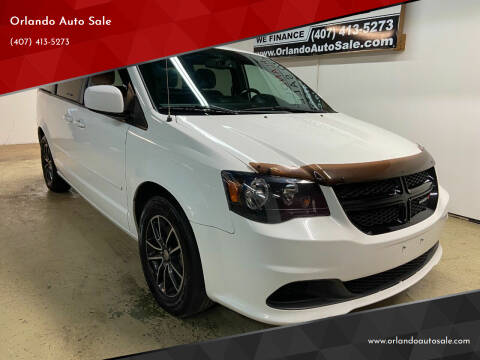 2016 Dodge Grand Caravan for sale at Orlando Auto Sale in Orlando FL