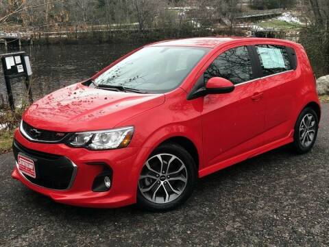 2019 Chevrolet Sonic for sale at STATELINE CHEVROLET BUICK GMC in Iron River MI