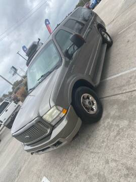 2003 Ford Excursion for sale at Texas Truck Sales in Dickinson TX