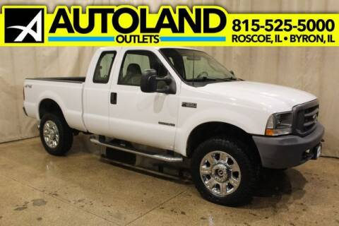 2003 Ford F-350 Super Duty for sale at AutoLand Outlets Inc in Roscoe IL