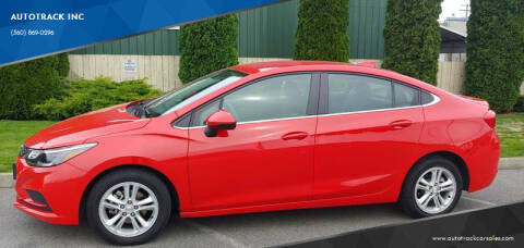 2018 Chevrolet Cruze for sale at AUTOTRACK INC in Mount Vernon WA