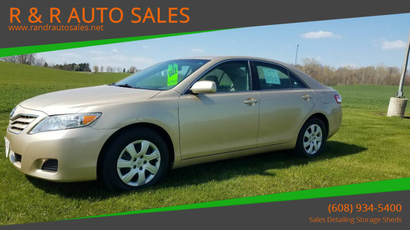 2011 Toyota Camry for sale at R & R AUTO SALES in Juda WI