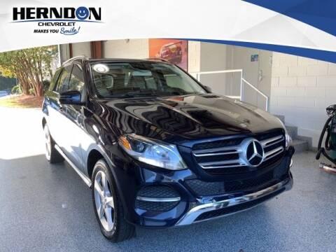 2016 Mercedes-Benz GLE for sale at Herndon Chevrolet in Lexington SC