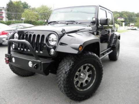 2014 Jeep Wrangler Unlimited for sale at DMV Auto Group in Falls Church VA