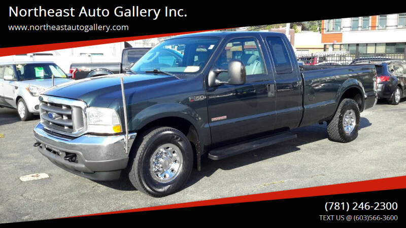 2004 Ford F-350 Super Duty for sale at Northeast Auto Gallery Inc. in Wakefield MA