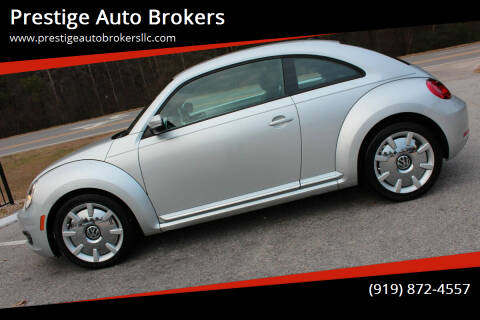 2012 Volkswagen Beetle for sale at Prestige Auto Brokers in Raleigh NC