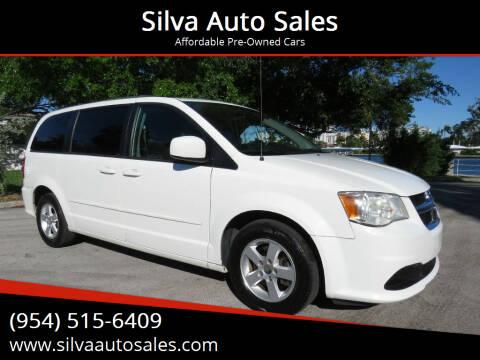 2013 Dodge Grand Caravan for sale at Silva Auto Sales in Pompano Beach FL