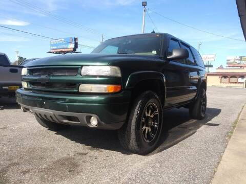 2003 Chevrolet Tahoe for sale at Best Buy Autos in Mobile AL