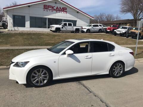 2013 Lexus GS 350 for sale at Efkamp Auto Sales LLC in Des Moines IA